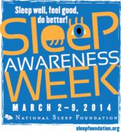 Sleep-awareness-week-2014 logo