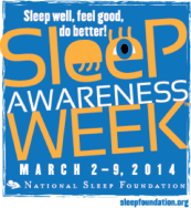 Sleep-awareness-week-2014 logo