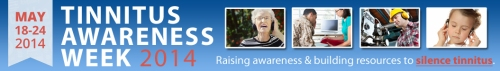 Tinnitus Awareness Week 2014 banner