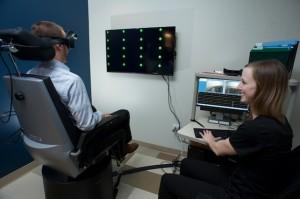 Vestibulo Ocular Reflex Test