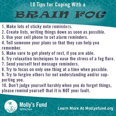 Brain Fog Tips
