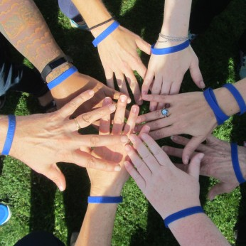 Hands In Balance Wristbands Walk for Balance Event 2017