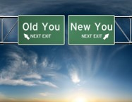 Old You New You Exit Signs